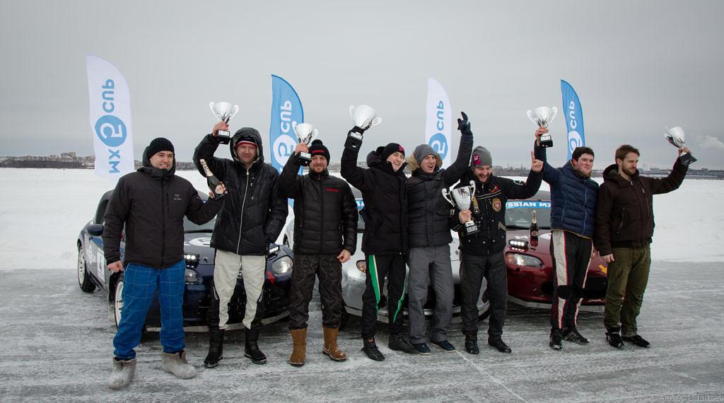 Автоспорт: Раллисты - первый «кольцевой» опыт на льду  5
