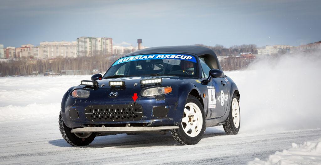Автоспорт: Раллисты - первый «кольцевой» опыт на льду  3