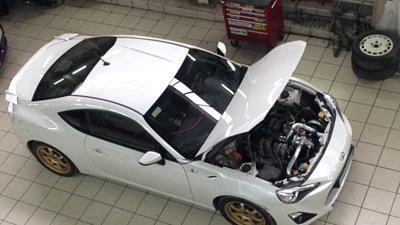 Сервис: Toyota GT-86 — Первый пошел