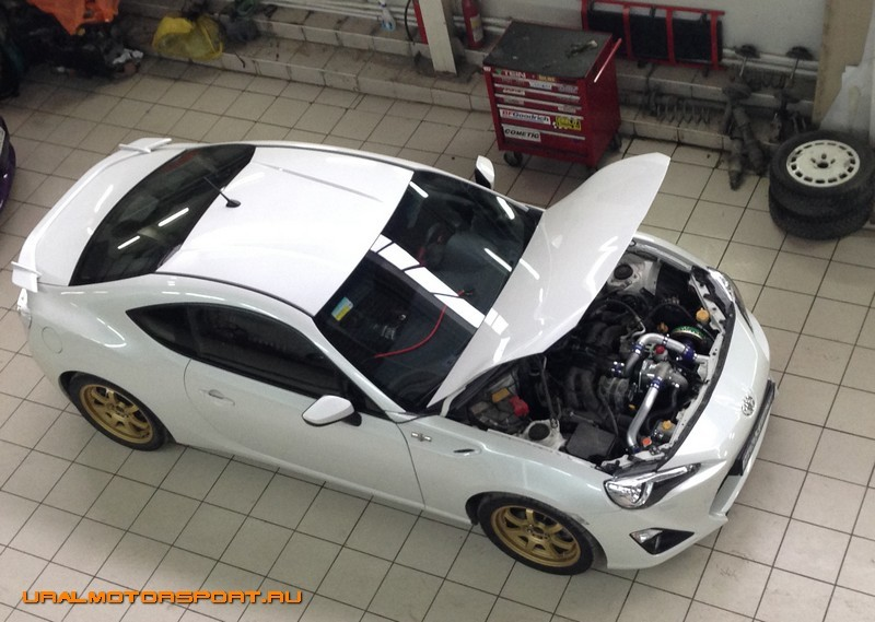 Сервис: Toyota GT-86 - Первый пошел