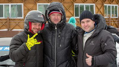 Автоспорт: Раллисты — первый «кольцевой» опыт на льду