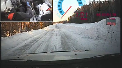 Он-борд камера: тестовый участок ралли «Ураласбест-2015»