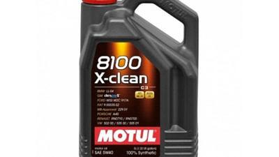 Новинка: Моторное масло для бензиновых и дизельных двигателей MOTUL 8100 X-clean 5W-40