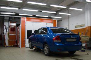 Сервис: экскурсия по кузовному цеху автотехцентра