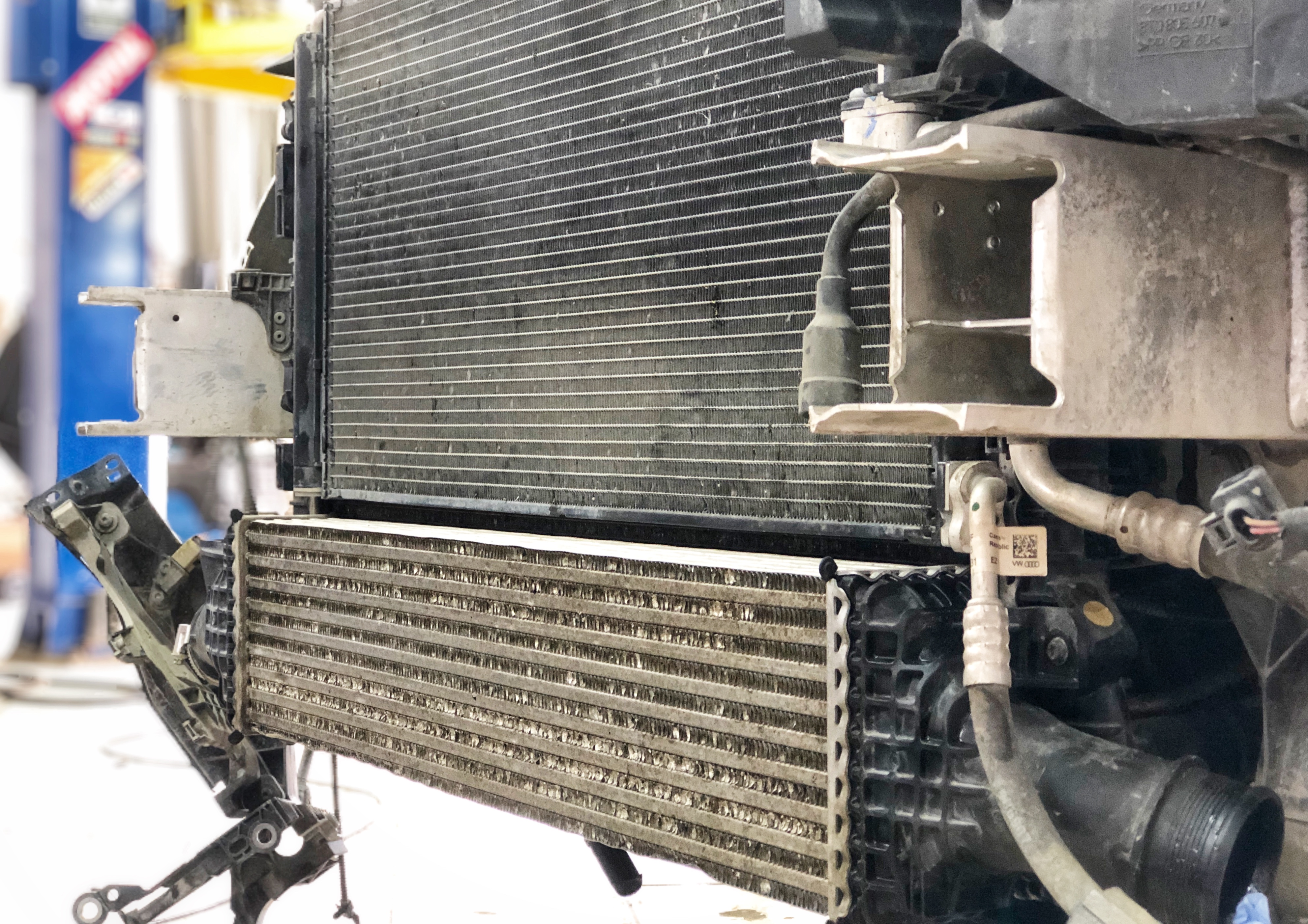 Сервис: Промывка радиатора со снятием по доступной цене