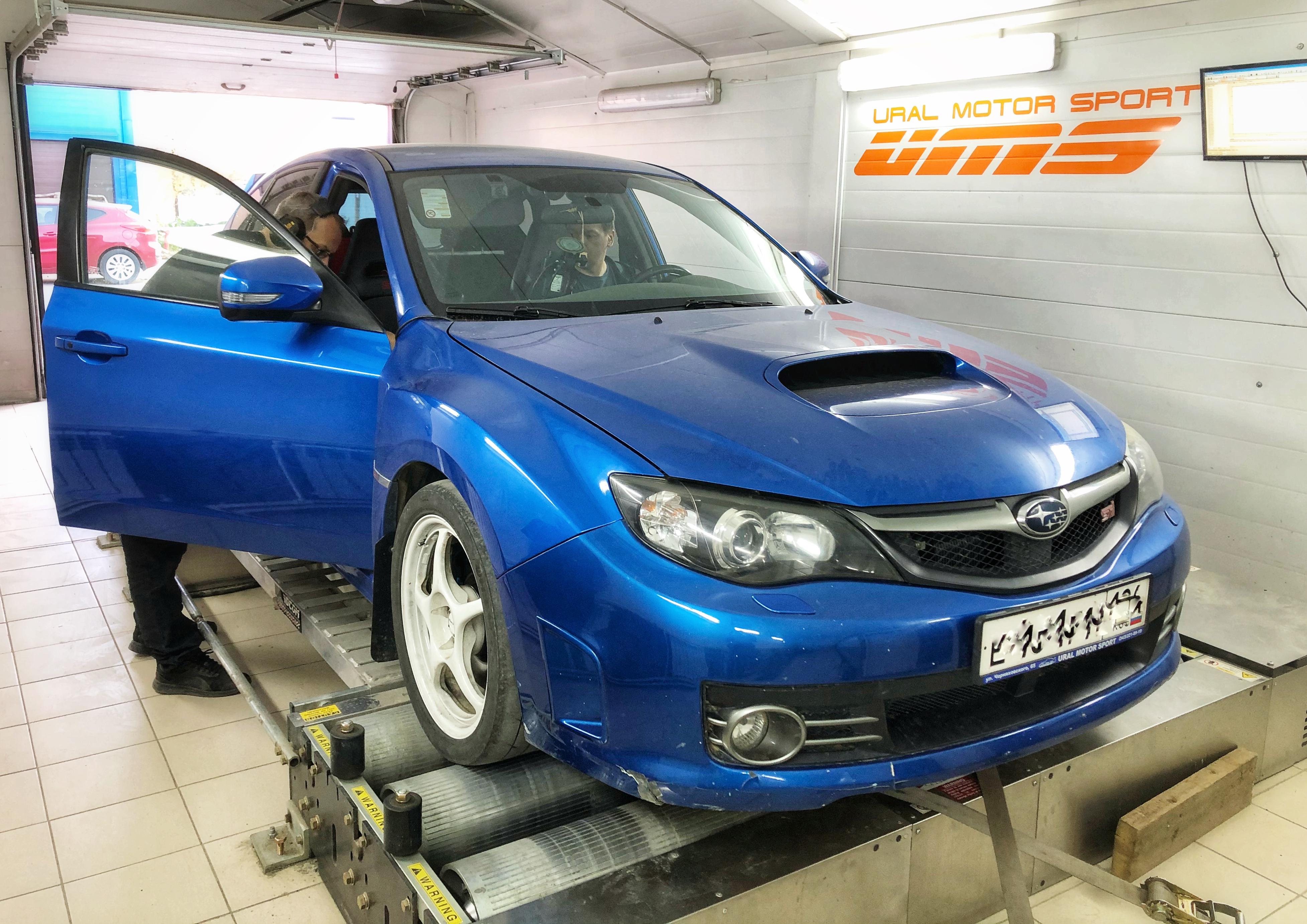 Сервис: Тюнинг автомобиля Subaru Impreza STi