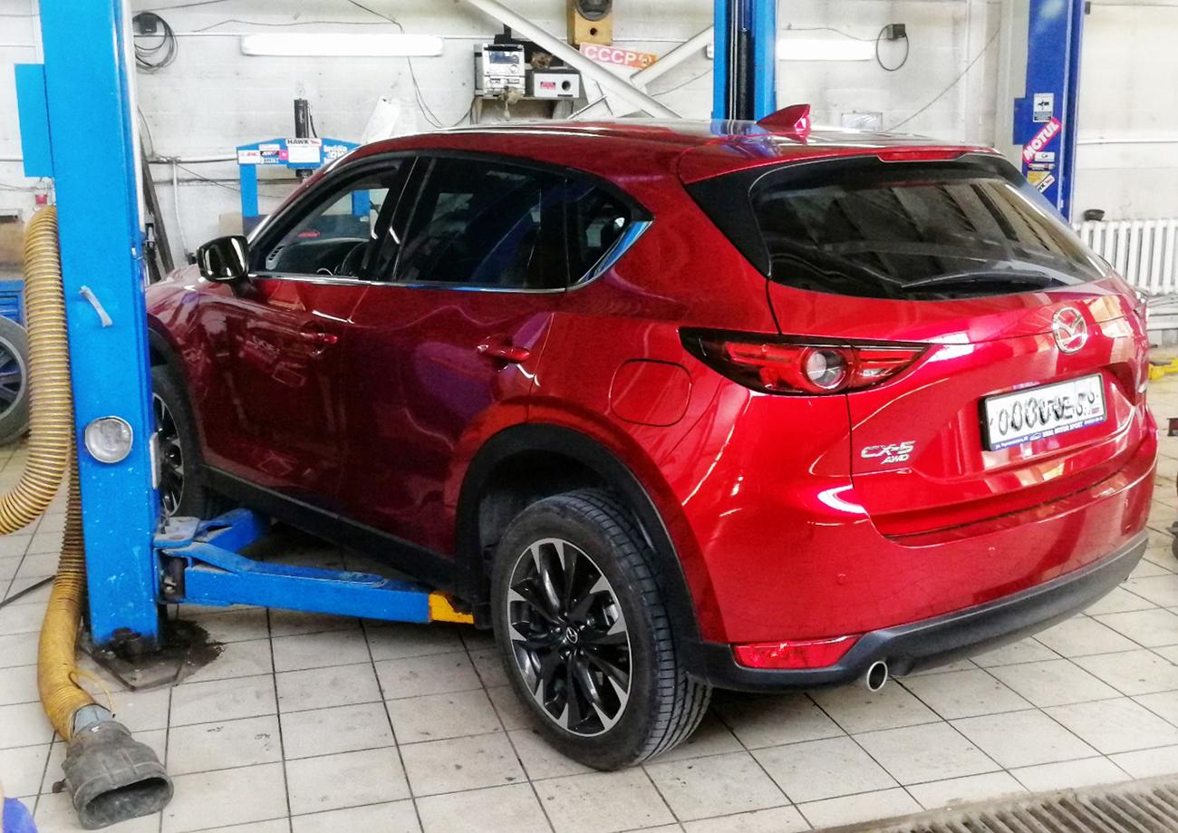 Техническое обслуживание автомобилей MAZDA