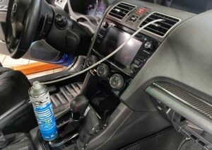 Сервис: Комплексное обслуживание кондиционера автомобиля